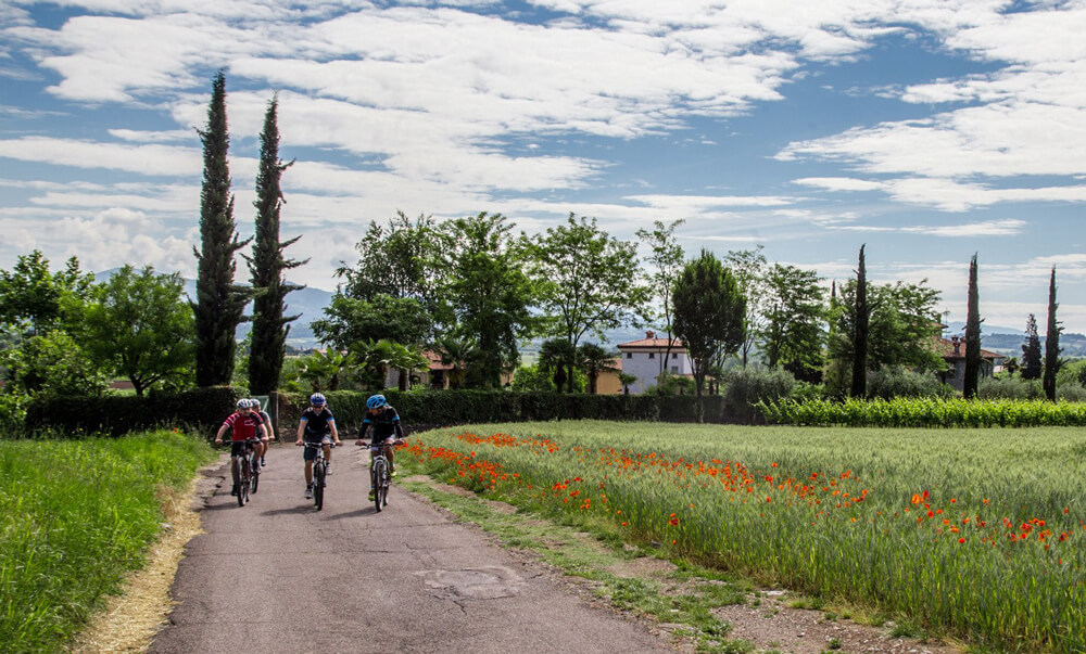 Franciacorta in Mountain-Bike.